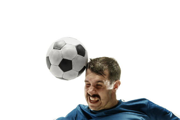 Close up of emotional man playing soccer hitting the ball with the picture id1193489769?b=1&k=6&m=1193489769&s=612x612&w=0&h=mvzh9z351jkwcmkmum83ovnfdvyhpwumn7kww0ifvia=