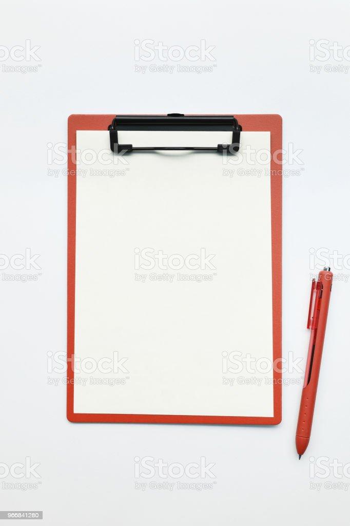 close up of empty paper - Zbiór zdjęć royalty-free (Abstrakcja)