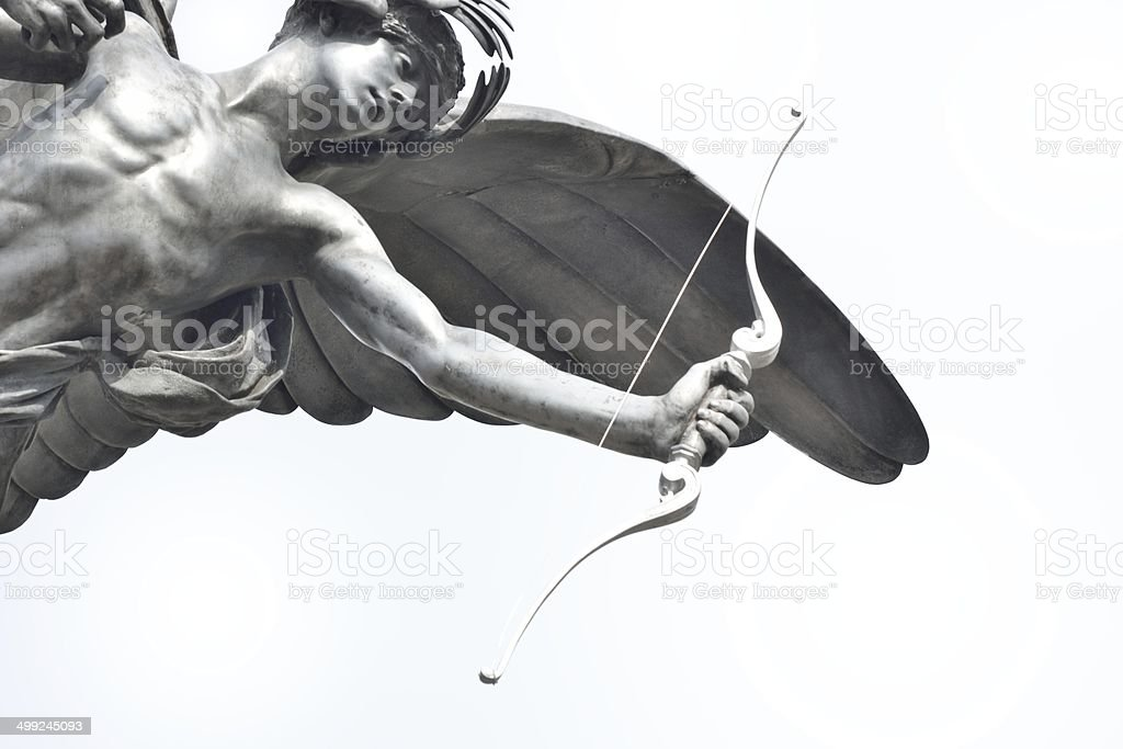 Close up of Eros Staue stock photo