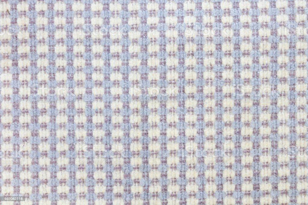 Close up of fabric pattern design stock photo