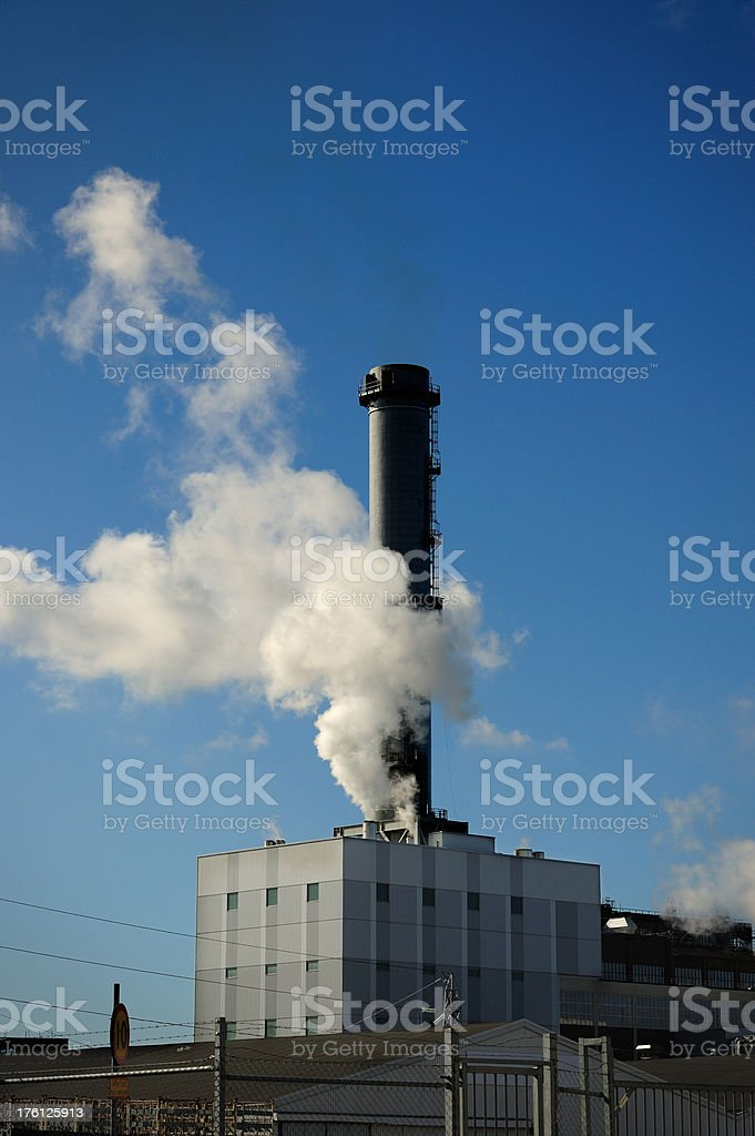 Close up of factory royalty-free stock photo