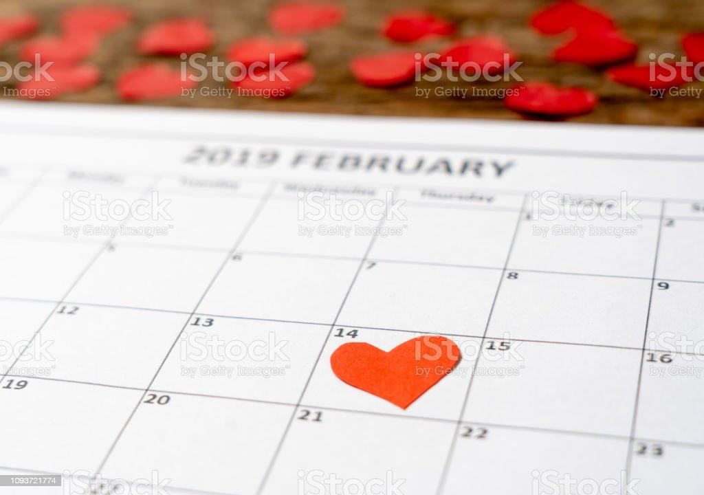 Date de la Saint-Valentin