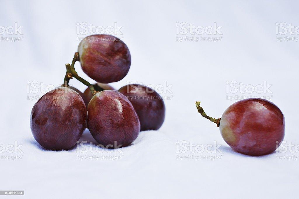 Close up of grapes stock photo