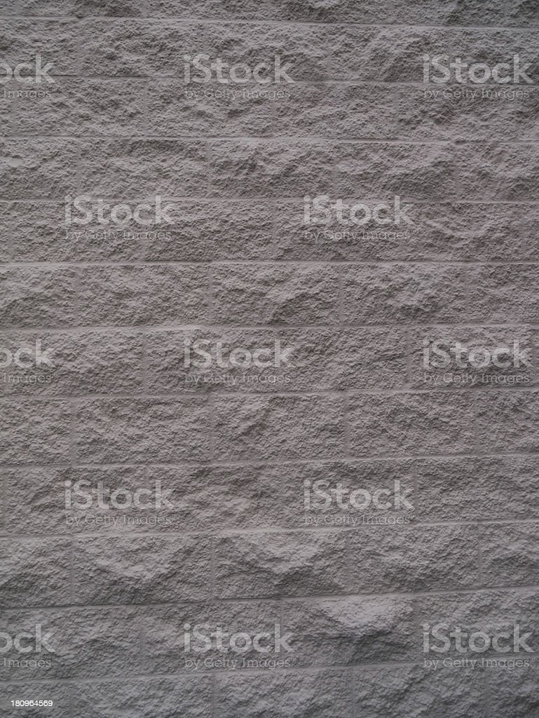 Close Up of Gray Brick Wall royalty-free stock photo