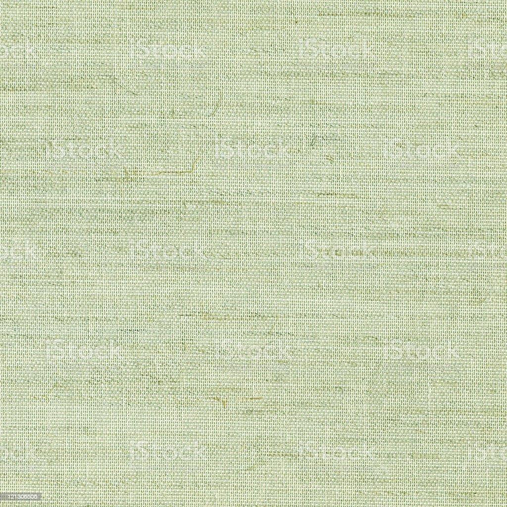 Close up of green burlap texture royalty-free stock photo