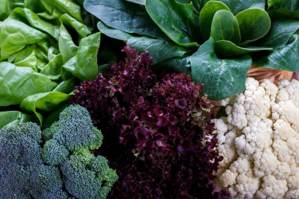 Nahaufnahme eines gesundes Gemüse – Foto