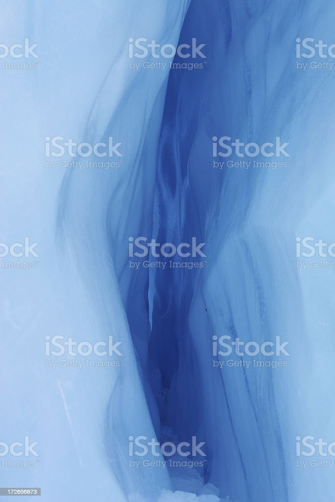 Close up of ice glacier royalty-free stock photo