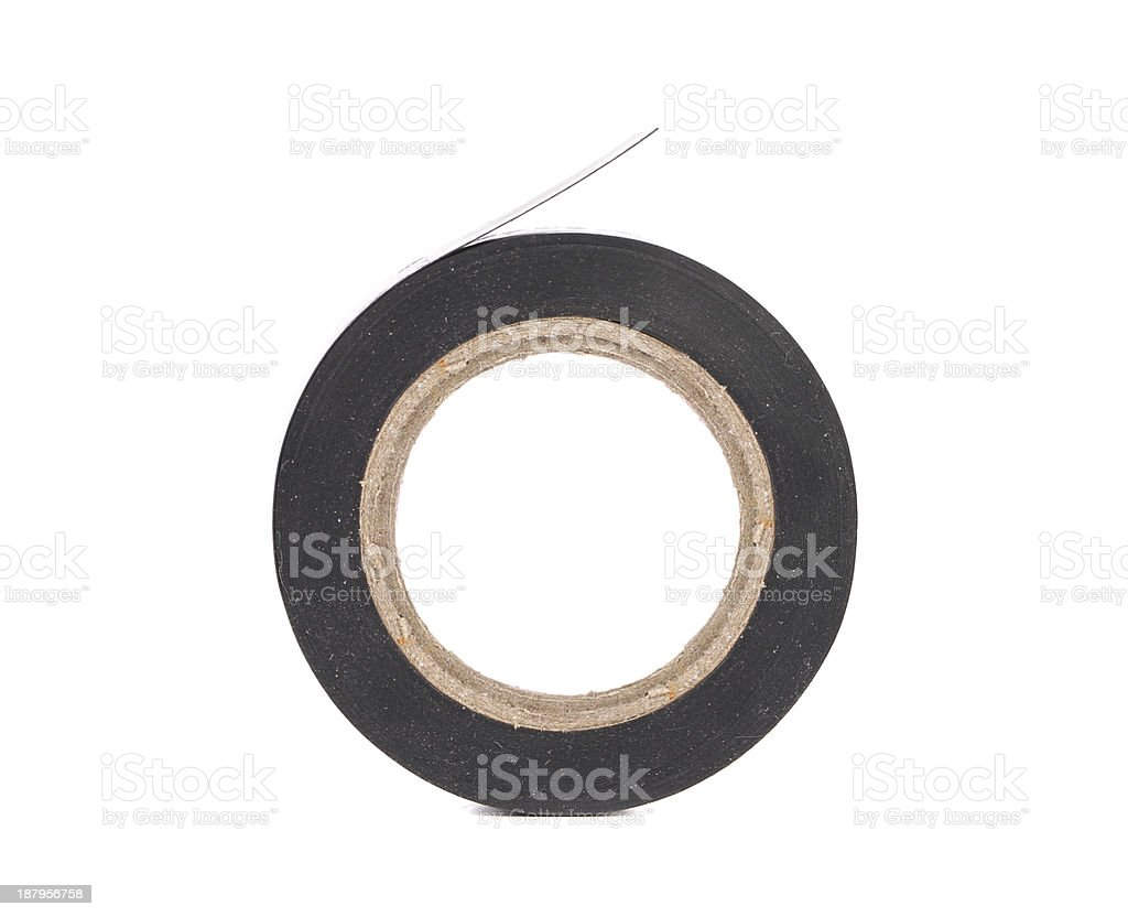 Close up of insulating tape. royalty-free stock photo
