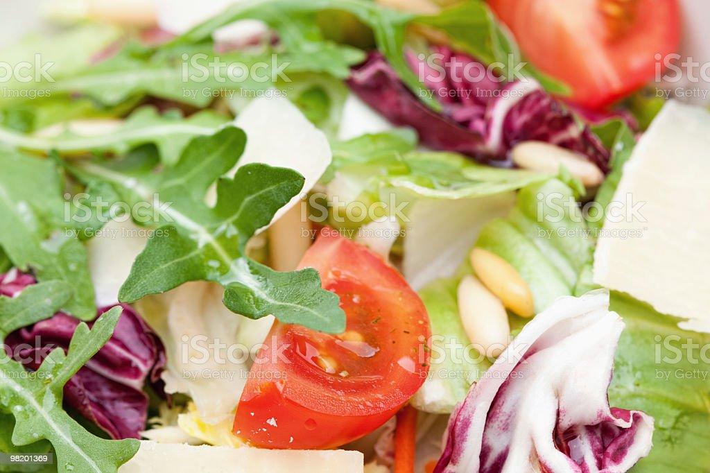 Close Up Of Italian Mixed Salad royalty-free stock photo
