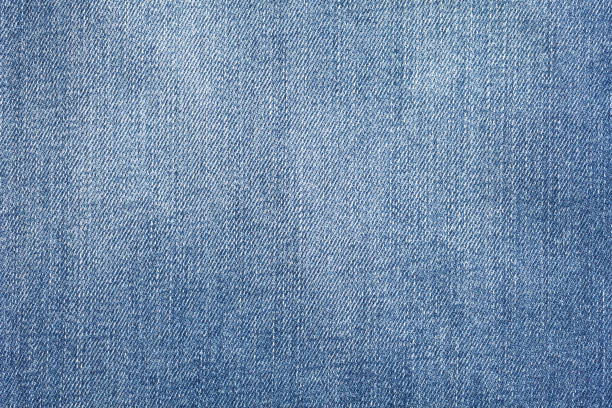 Close up of jeans texture stock photo
