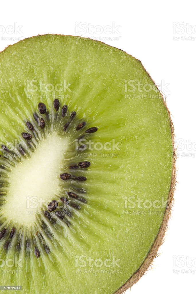 Close up of kiwi royalty-free stock photo