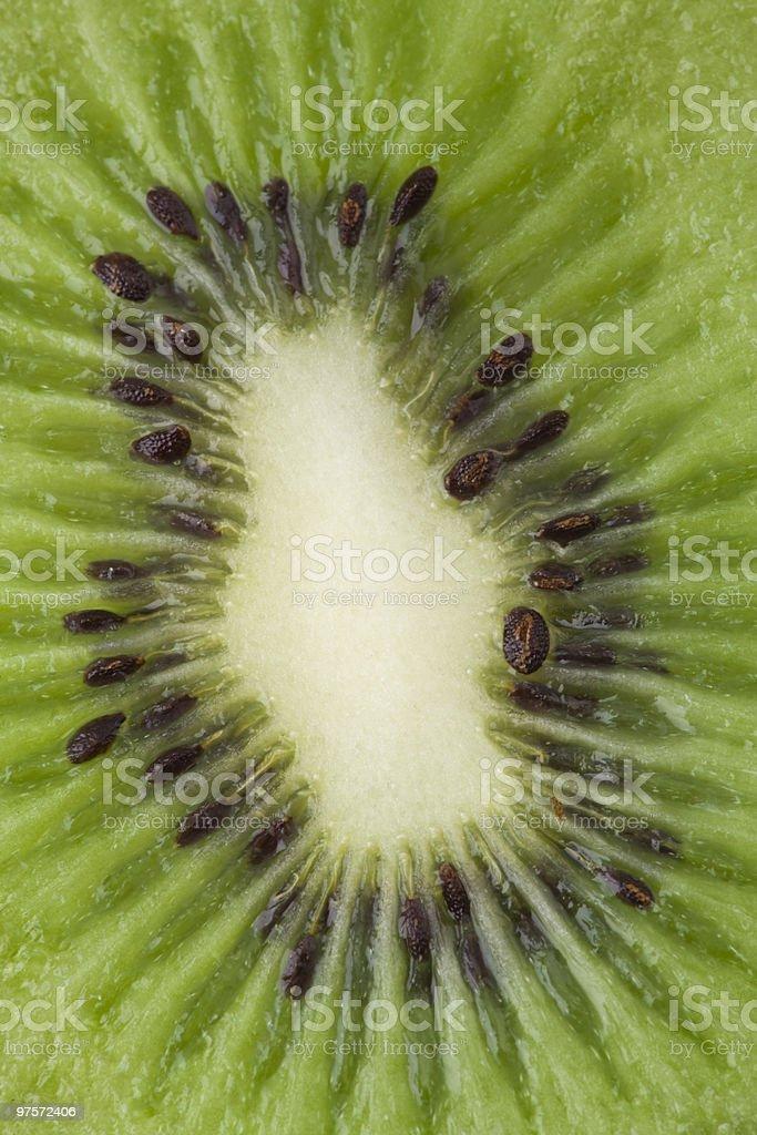 Gros plan de kiwi photo libre de droits