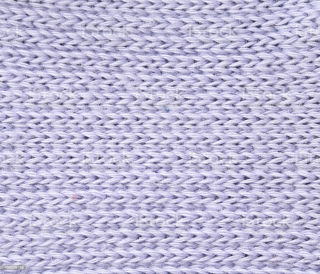 Close up of knitted fabric texture. stock photo