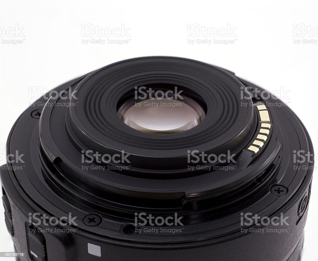 Close up of lens bottom royalty-free stock photo