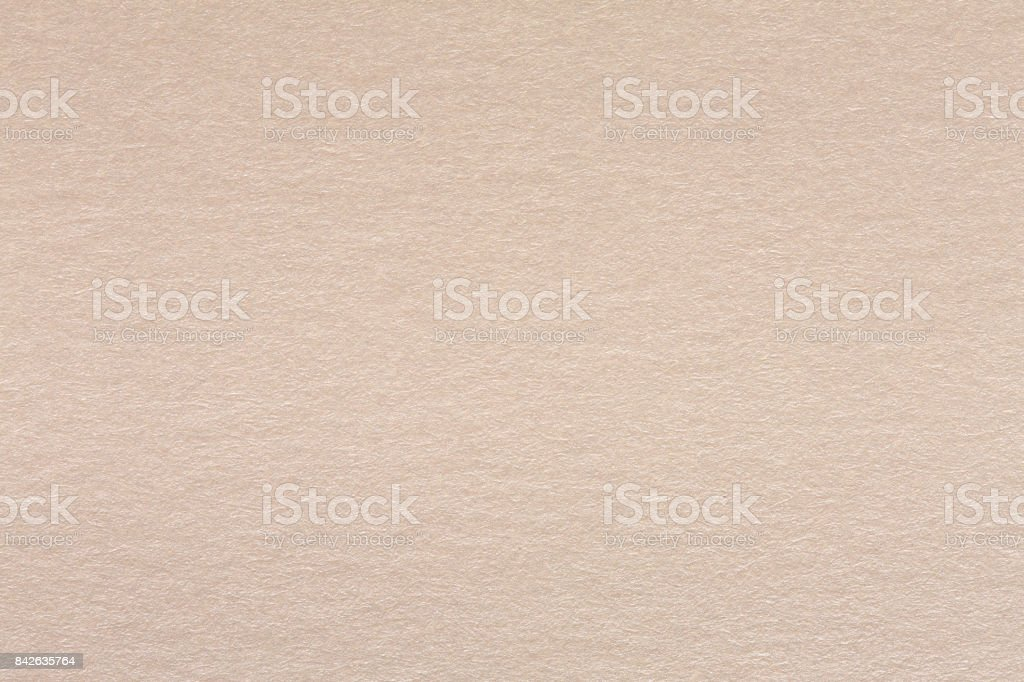 Close up of light beige paper texture stock photo
