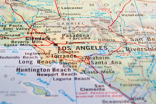 Best Southern California Map Stock Photos, Pictures ...