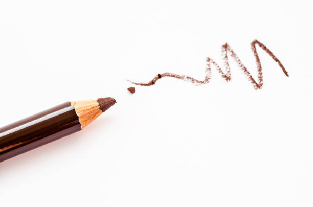 鉛筆を作るのクローズ アップ ストックフォト
