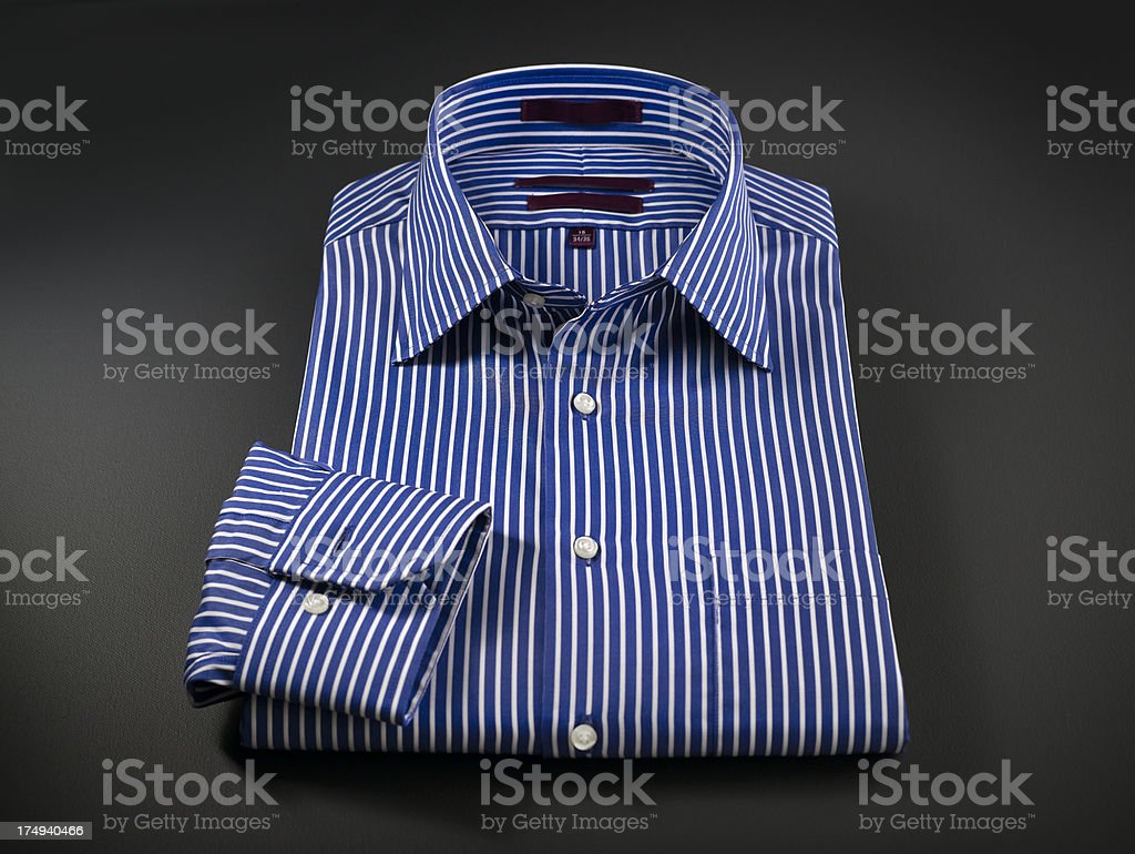 Close up of mens shirt royalty-free stock photo
