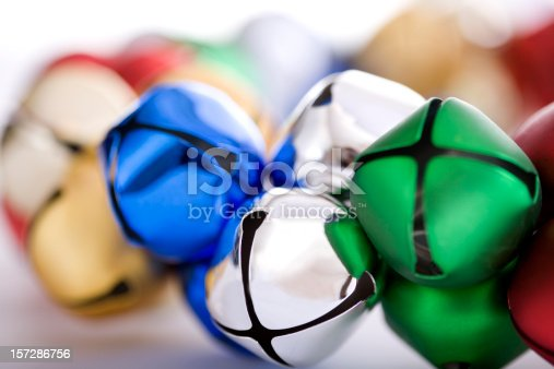 istock Bell Wreath Close Up for Christmas, Multicolored 157286756