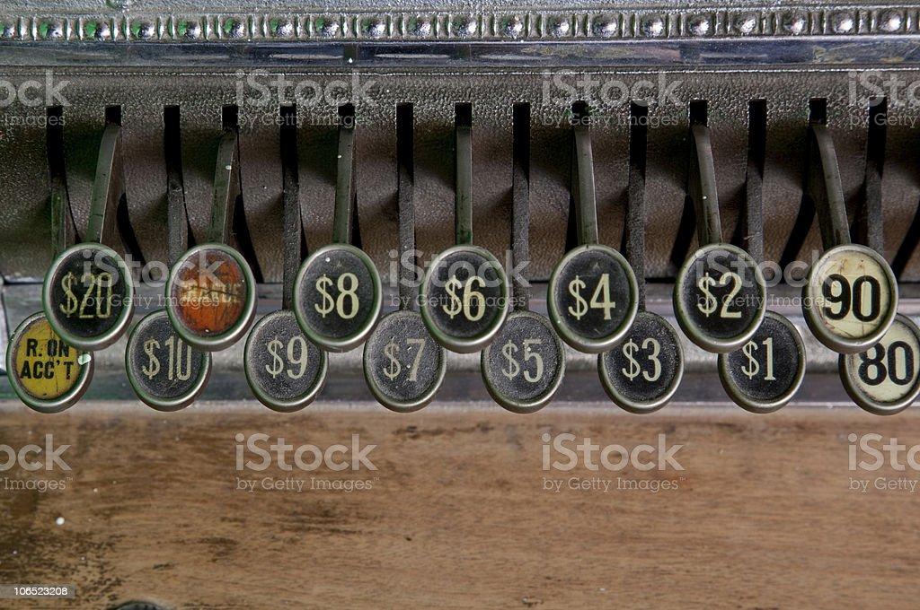 close-up de caixa de chaves velha - foto de acervo