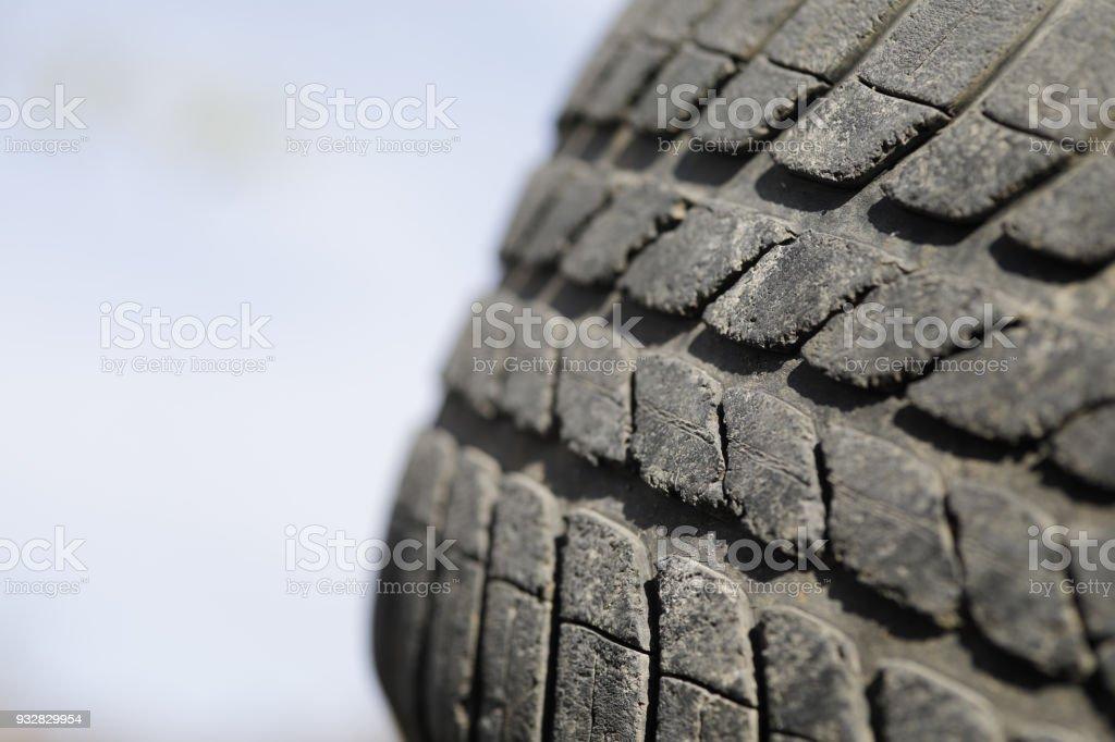 Nahaufnahme von alten Reifen – Foto