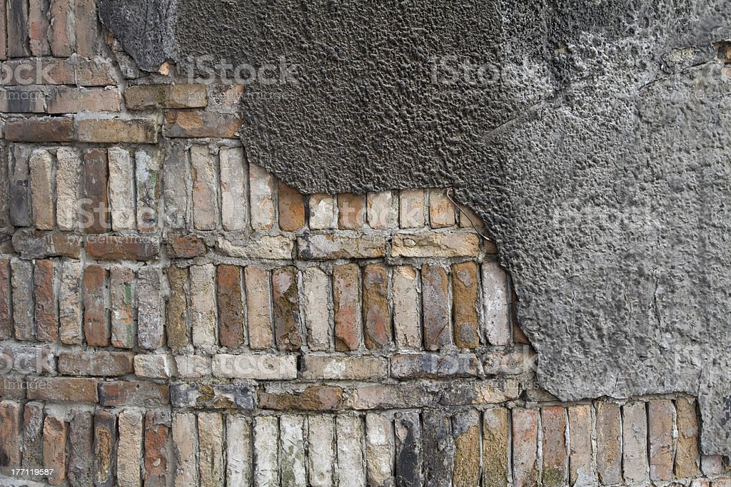 Close Up of old Wall stock photo