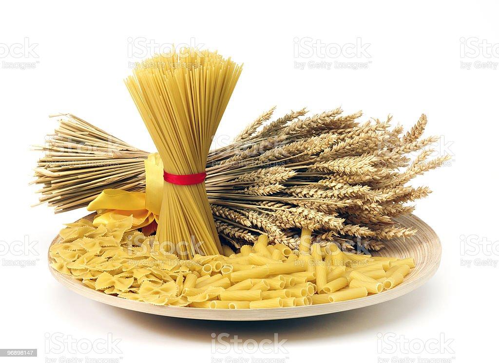 Close up of pasta royalty-free stock photo