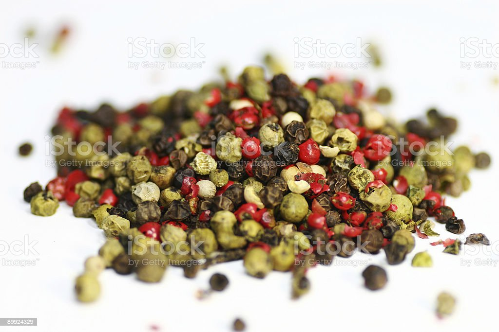 Close up of Pepper royalty-free stock photo