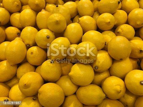 istock Close up of produce - Lemons 1310281937