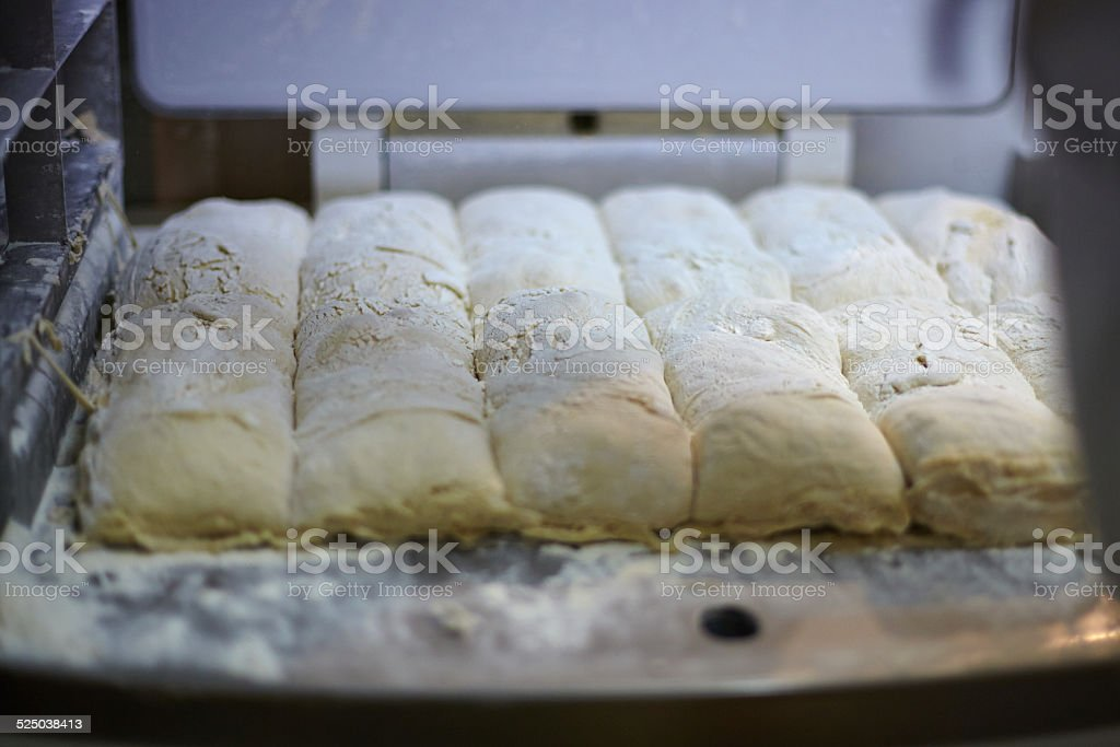 Close up of raw bread stock photo