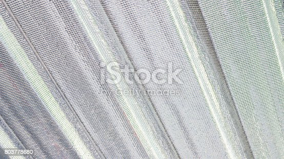 istock Close up of roof insulation for a background. 803778680