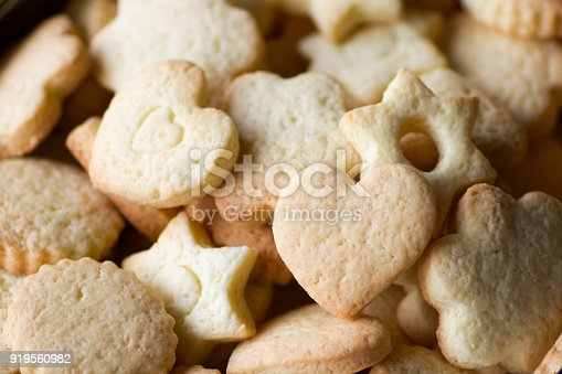 istock close up of  shortbread biscuits in different shapes 919560982
