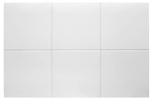 Baldosas blancos - foto de stock