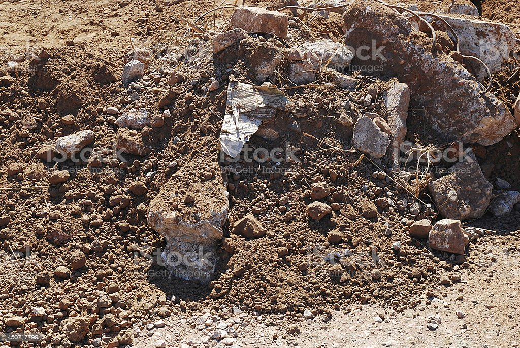 close up of soil background royalty-free stock photo