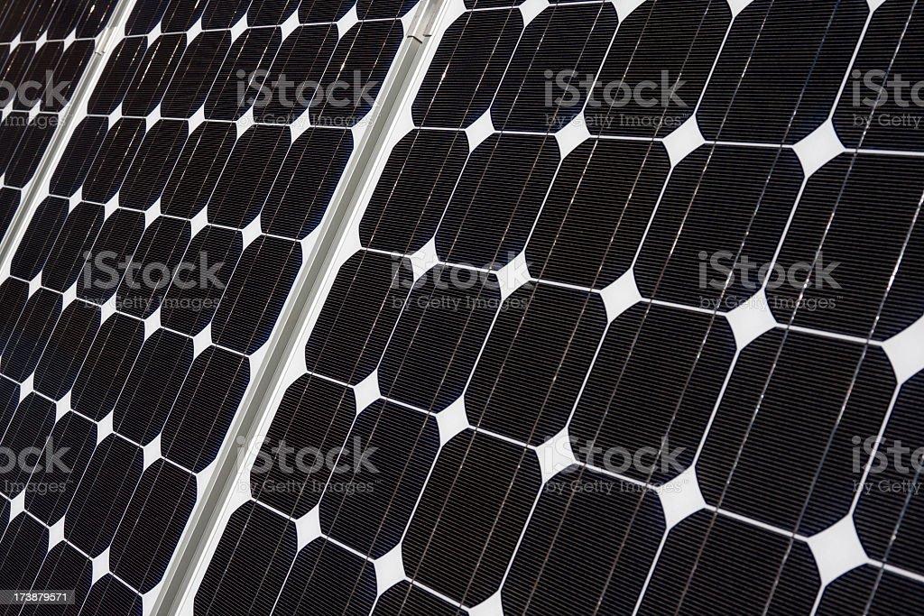 Close up of solar panel, Alternative energy. royalty-free stock photo