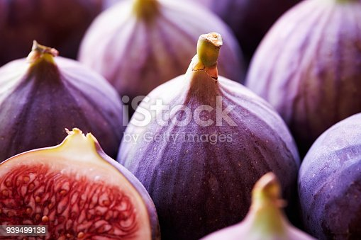Close up of some figs.