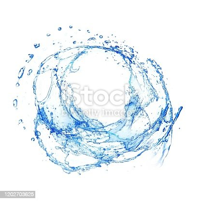 629189244 istock photo Close up of splashes and white background 1202703625