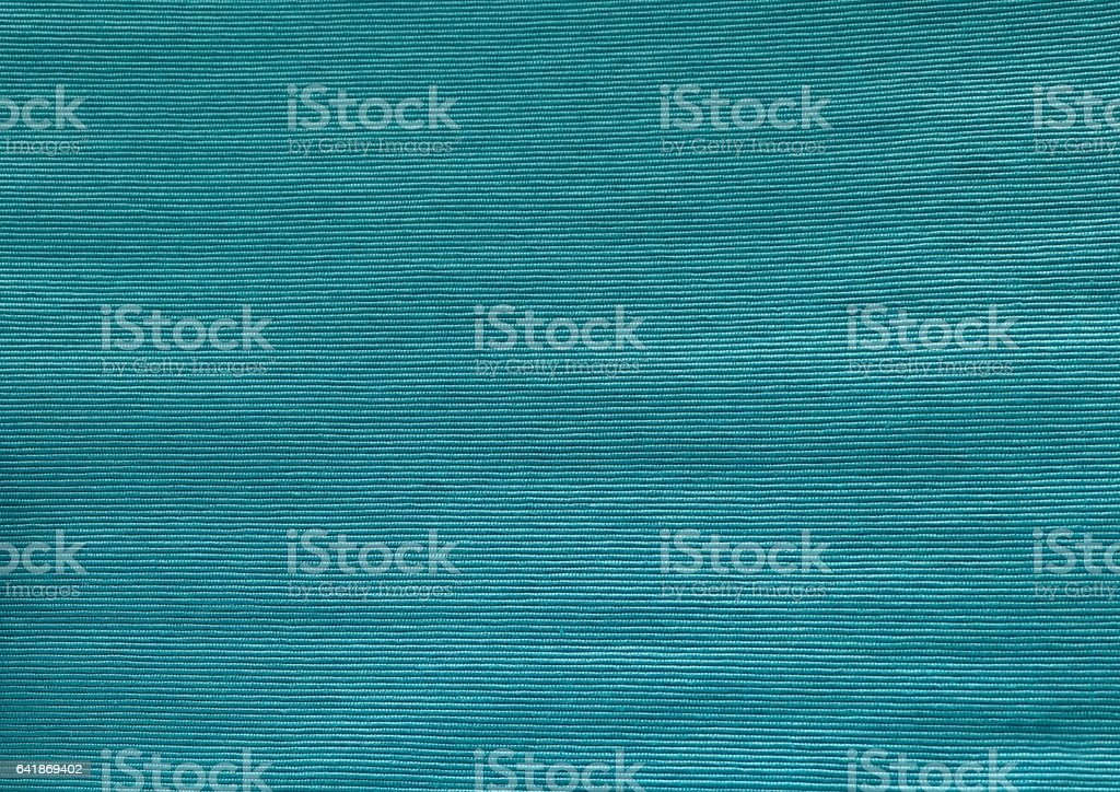 Close Up of Teal Cotton Textile Texture - Photo
