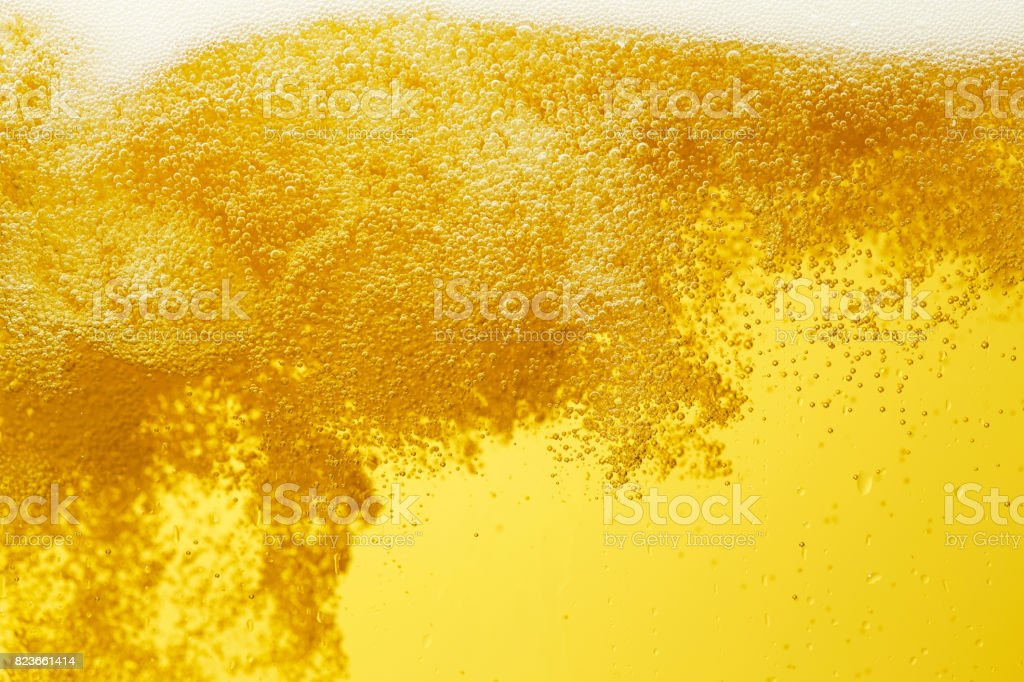 close up of the beer stock photo