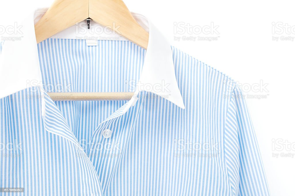close up of the business shirt stock photo