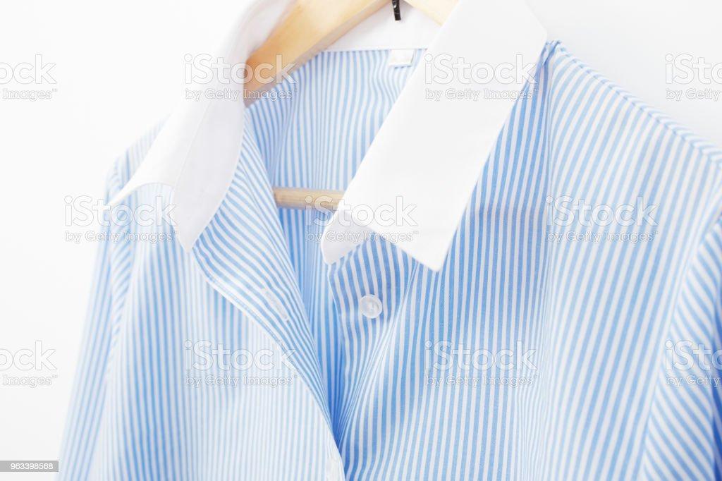 close up of the business shirt - Zbiór zdjęć royalty-free (Bez ludzi)