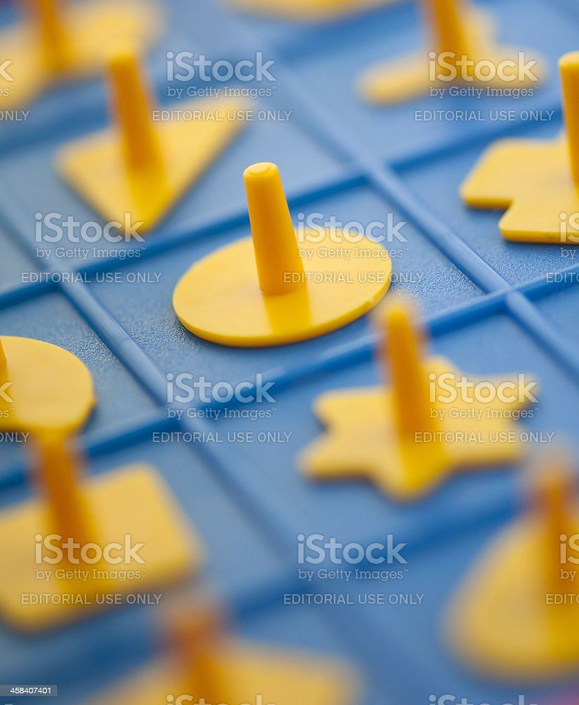 Close up of the game perfection royalty-free stock photo