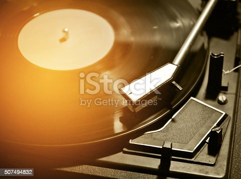 istock close up of turntable music player  process n vintage tone 507494832