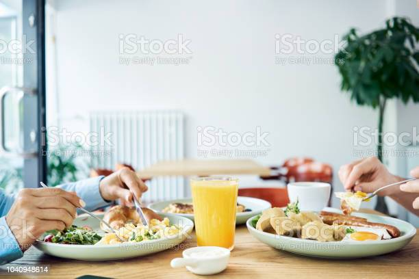 Close up of two people having healthy and tasty breakfast in cafe picture id1040948614?b=1&k=6&m=1040948614&s=612x612&h=jtrvxccatpene8tiekiifeo kr43g37isyntwnvbudm=