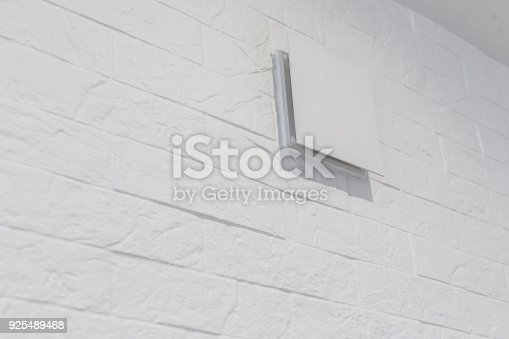 1132163701istockphoto Close up of vent on the white wall plastic ventilation grid piece of home ventilation system 925489468