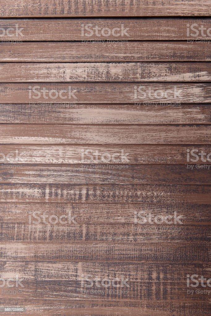 Nahaufnahme der Wand aus hölzernen Planken – Foto