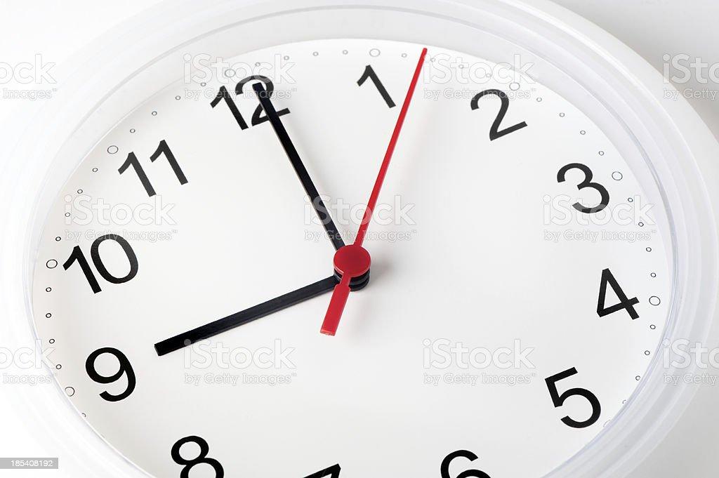 Nahaufnahme des weißen Uhr – Foto