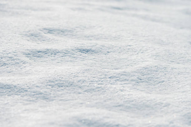 close up of white snow background - snow stock pictures, royalty-free photos & images