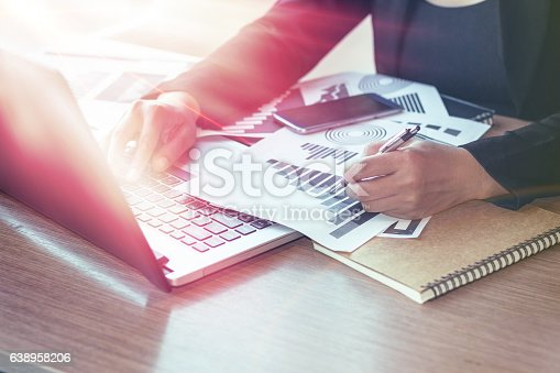 599882200 istock photo Close Up of woman hands using mobile phone 638958206