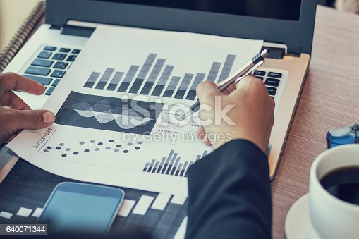 istock Close Up of woman hands using mobile phone 640071344